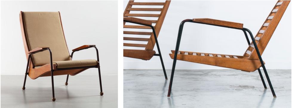 Fauteuil-Chaise-Visiteur-Jean-Prouve-Design