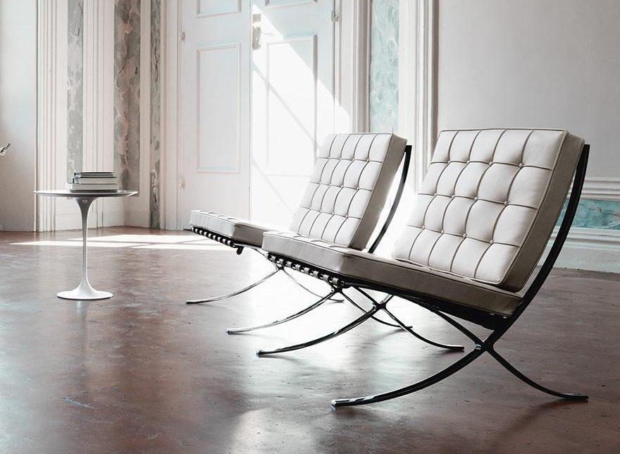 MiesVanDerRohe-Barcelona-Chair-design